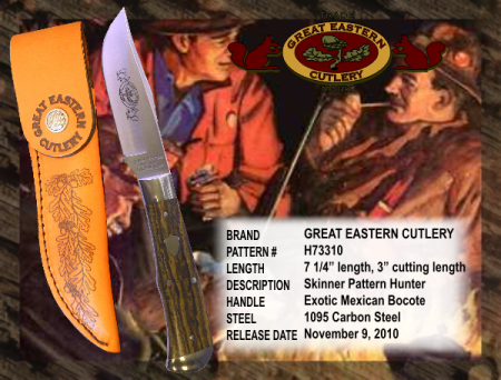 Great Eastern Cutlery Hunting Knife Made in USA