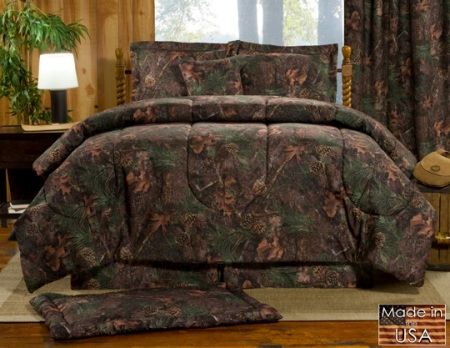 Victor Mills Comforter/Bedspread American Made - Mixed Pine