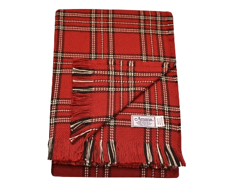 Cotton Throw Blanket - The Plaids