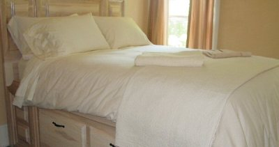 Organic Percale Sheet Made in USA- Fitted