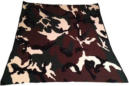 Camo Blanket American Made