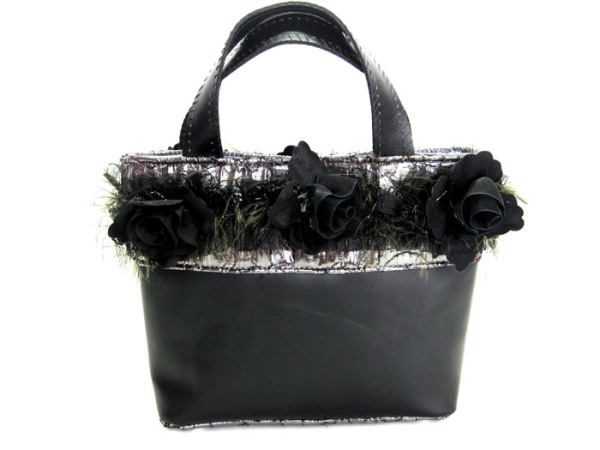 Leather Flower Bag Made in America by Dreambags