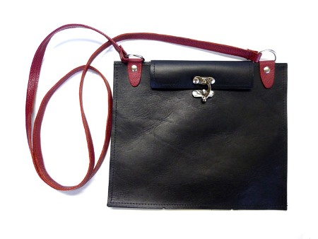 Leather Hip Bag Made in USA