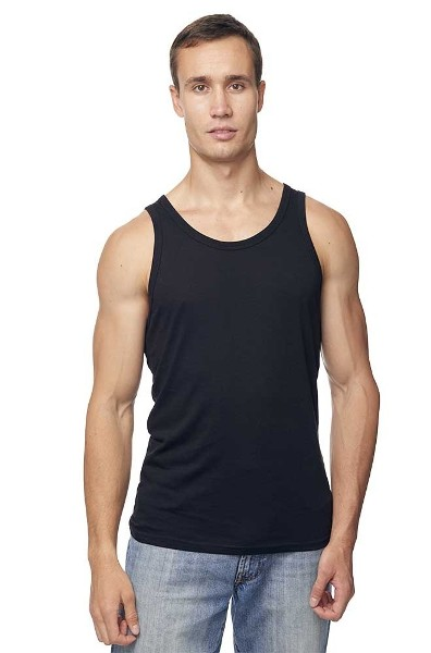 Mens Bamboo Muscle Tank Made in America