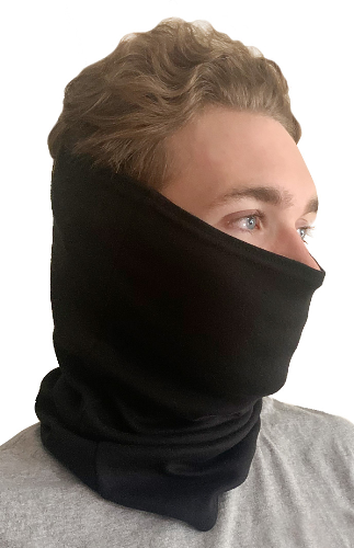 Unisex Organic Neck Gaiter Made in USA