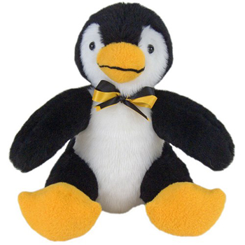 Penguin Stuffed Animal Toy American Made