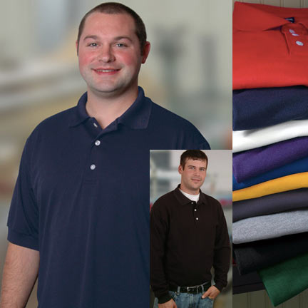 Men's Value Priced Solid Sport Shirt  - American Made - On Sale Now!