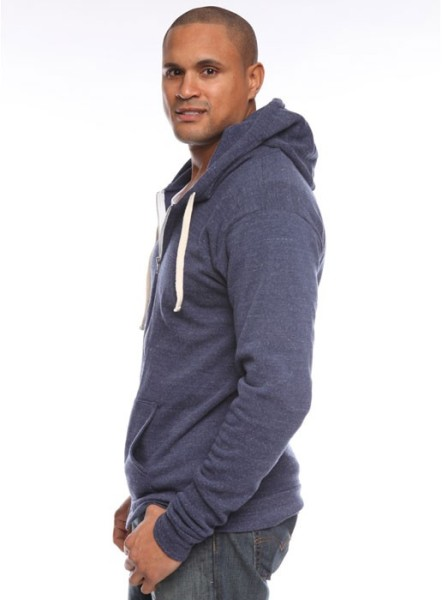Organic Fleece Zip Hoody American Made