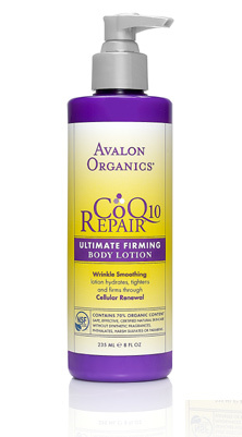 Avalon Organics CoQ10 RepairTM - Ultimate Firming Body Lotion Made in America