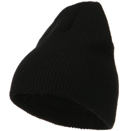 Big Stretch Heavy Wool Military Beanie Made in USA