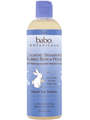 3 in 1 Calming Shampoo, Bubble Bath and Wash Made in USA