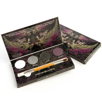 Honeybee Gardens Rock the Smokey Eye Shadow Palette Made in USA