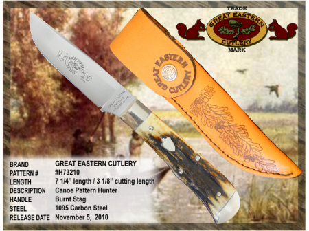 Great Eastern Cutlery Hunting Knife Made in USA - Out of Stock until June 2011
