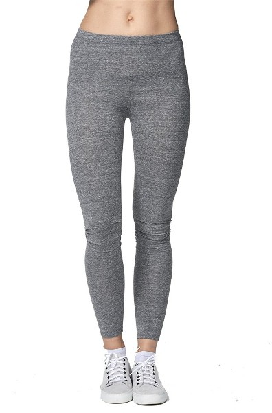 eco Triblend Spandex Jersey Leggings America Made