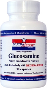 Glucosamine Plus Chondroitin - 90 Capsules American Made