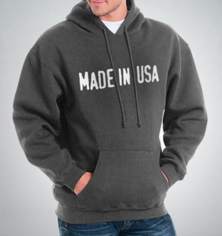 Made in USA Hooded Sweatshirt