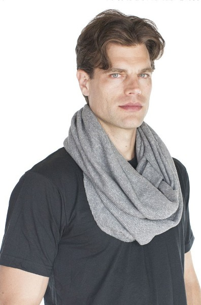 Men's Made in America ECO Triblend Circle Thermal Scarf