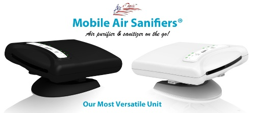 Air Oasis Mobile Sanifier AIr Purifier Made in America