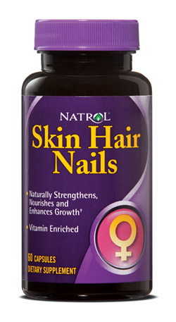 Natrol Skin Hair Nails Formula American Made