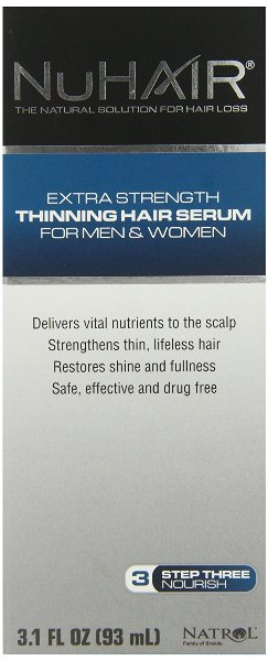 NuHair Thinning Hair Serum American Made