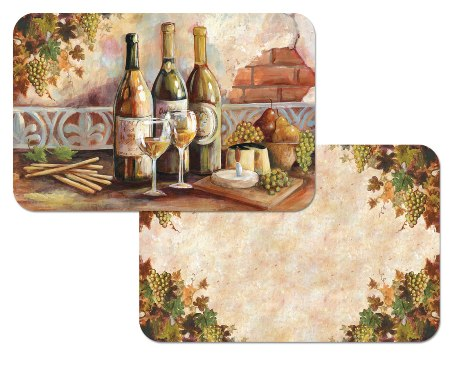 Tuscan Pinot  Placemat American Made - Set of 6