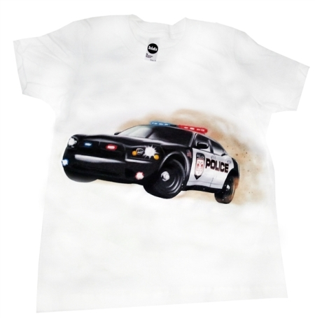 Kids Polie Car T-Shirt American Made