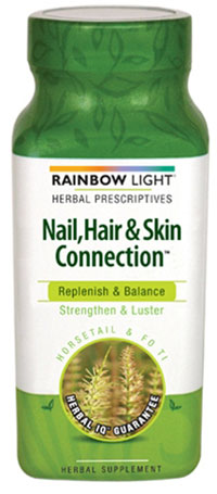 Rainbow Light Nail, Hair & Skin Connection Made in USA