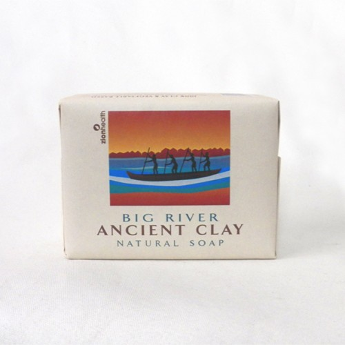 Natural Clay Bar Soap Made in USA - (pack of 3)