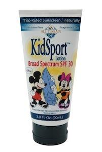 Mickey and Minnie Mouse KidSport SPF30 Lotion 3 oz.