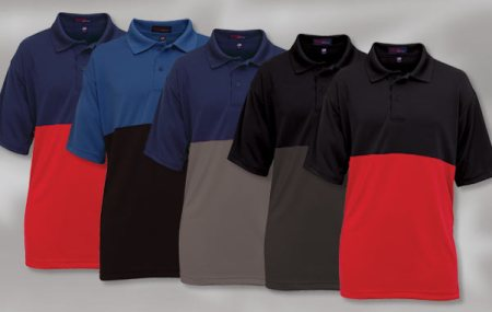 Swiss Pique Polo Shirt American Made