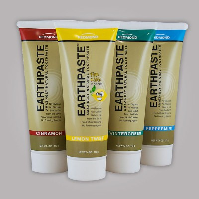 Earthpaste Natural Toothpaste - 4 oz American Made - Set of 2