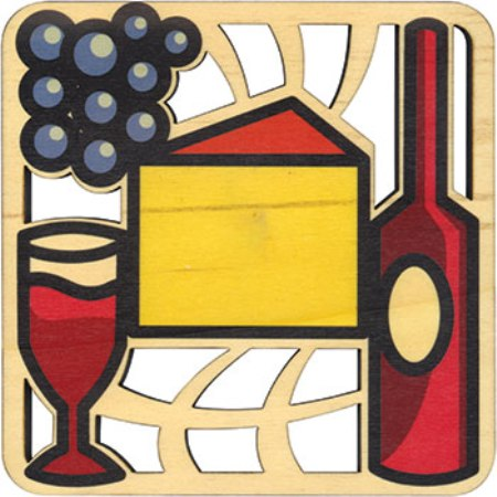Solace Trivet American Made, Printed Wine & Beer