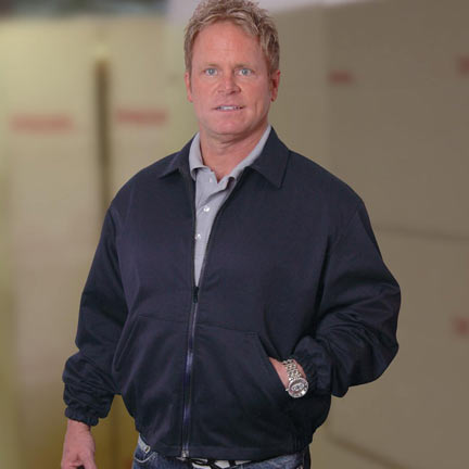 Men's Navy Twill Jacket Made in America