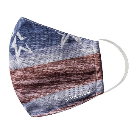 BAMBOO PATRIOTIC FACEMASKS AMERICAN MADE - SET OF 3