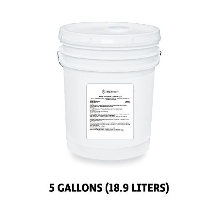 Hand + Surface Sanitizer - 5 Gallon Bucket with Pour Spout Lid Made in USA