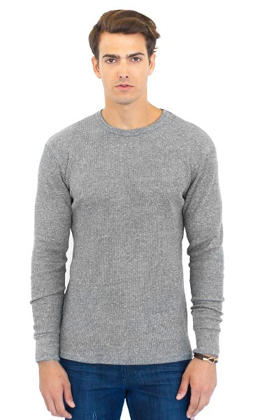 Unisex ECO Triblend Heavyweight Thermal Shirt Made in America