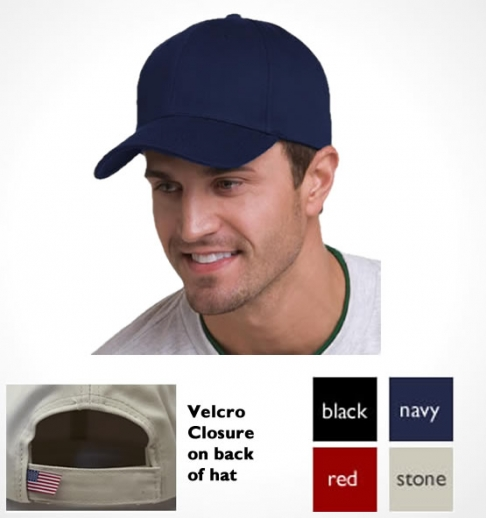 Structured Cap Made in America