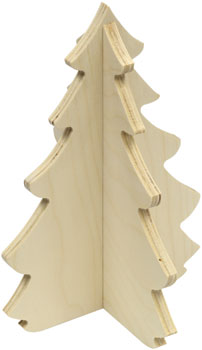 Christmas Kits, Tree Made in USA by Maple Landmark