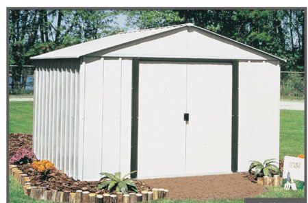 Standard Steel Finish American Made Shed - Arlington