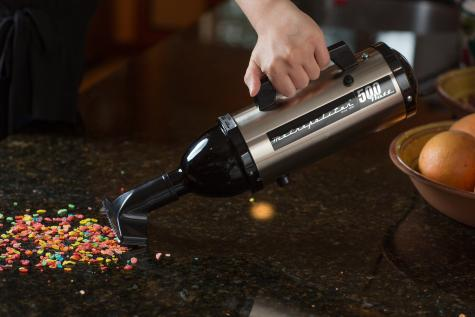 Metro Vacuum Evolution Hand Held Vacuum - Stainless Steel High-Performance - American Made