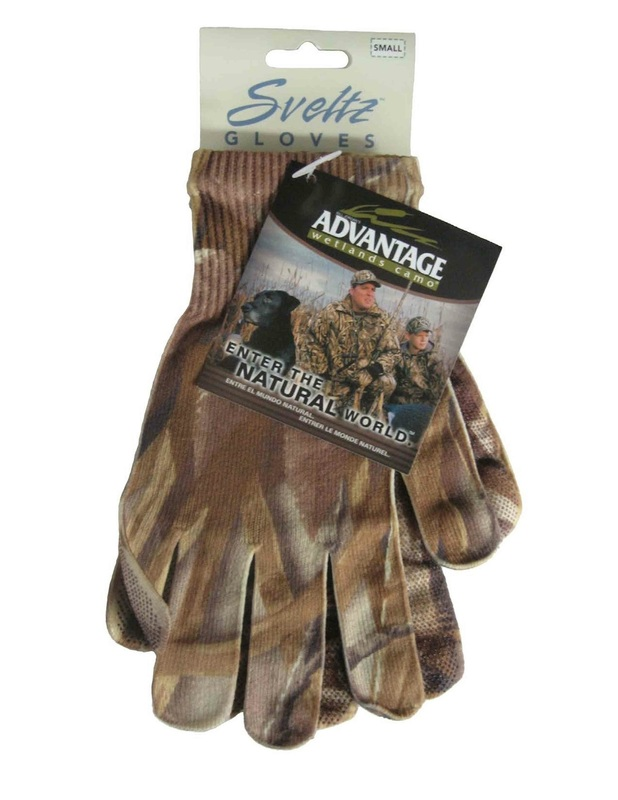 Advantage Wetlands Camo Gloves Made in USA