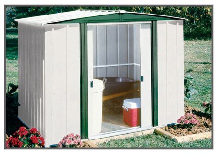 Metal Storage Shed Made in USA - Hamlet
