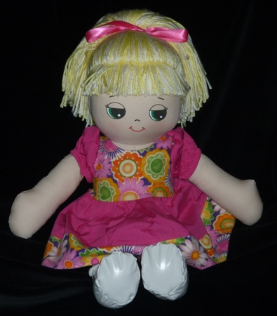 Adorable Kinders Brittany Rag Doll Made in America Made by Granza