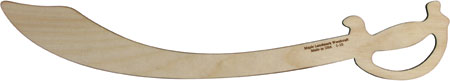 Maple Landmark Hardwood Play Sword - Made in America