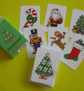 Christmas Cards Card Game - American Made