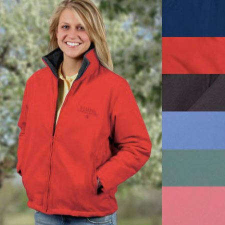 Ladies Lined Fleece Jacket - Darby - Made in America
