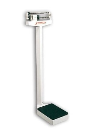 Detecto 437 Balance Beam Doctor/Physician Scale, 400 lbs, Made in the USA