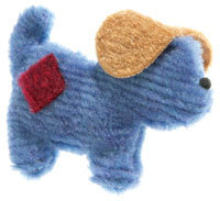 Puppy Pooch Small American Made Dog Toy