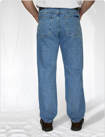 American Made Jeans - Regular 5 pocket Jeans with a Gusset