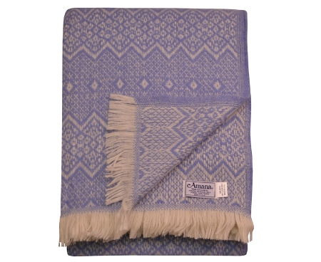 Wool Throw Blanket Made in America - Nordics